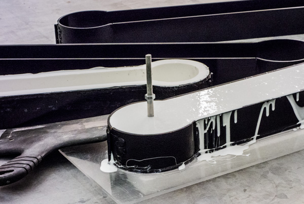 bordsur silikonformar